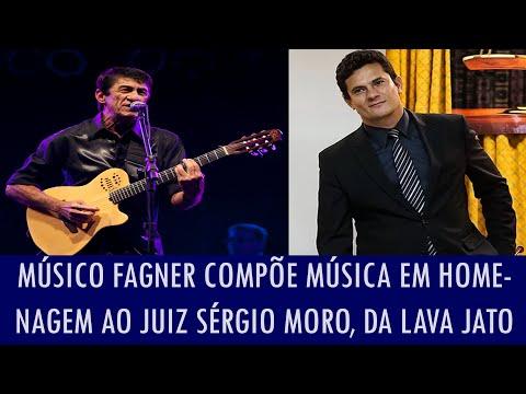 Músico Fagner compõe música em homenagem ao juiz Sérgio Moro, da Lava Jato; veja vídeo
