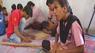 23 Mar, 2018: Visually impaired weave life with bamboo crafts in western India - ANIINDIAFILE