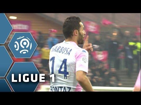 But Cédric BARBOSA (28') / Evian TG FC - Olympique Lyonnais (2-3) -  (ETG - OL) / 2014-15