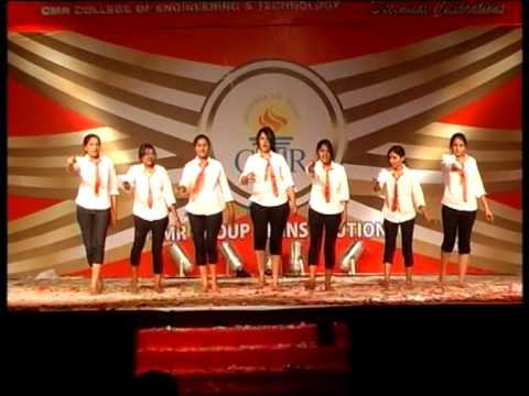 cmr college annual day Cl@SsY cHicKs_2012