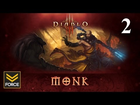 Diablo 3 Beta - Monk Gameplay (Commentary) Part 2