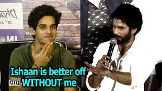 Shahid: Wasn't invited for 'Dhadak' party, Ishaan is better off WITHOUT me - IANSLIVE