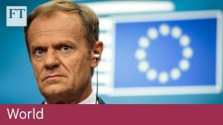 EU to ask UK for 'concrete proposals' to end Brexit impasse - FINANCIALTIMESVIDEOS