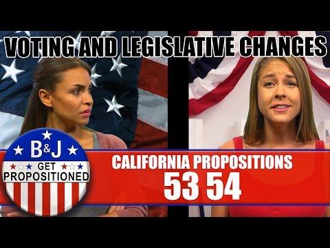 Props 53/54: Voting & Legislative Changes