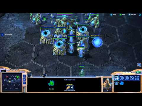Minigun coaching Destiny on playing protoss [Game 5] - Starcraft 2