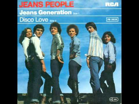 JEANS PEOPLE-- DISCO LOVE 1979
