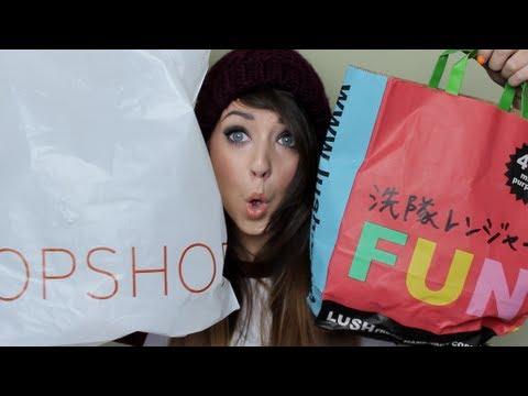 Collective Haul : Topshop, Lush, H&M, FeelUnique & AA | Zoella