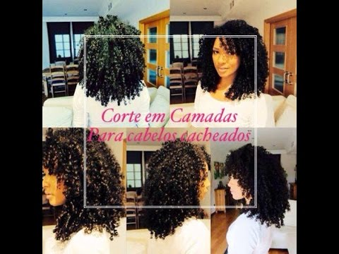 Corte para cabelo cacheado em Camadas | Por Gill Vianna