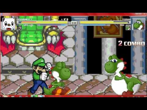 Oshawott and Luigi vs Yoshi and Yoshi Vore