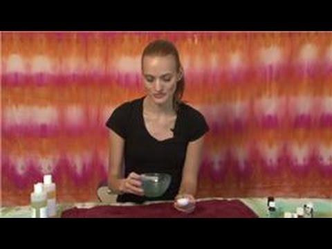 Massage Techniques : Aromatherapy Massage Oil Recipes