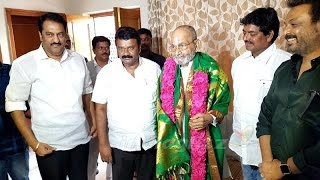 Talasani Srinivas Yadav congratulates K Viswanath on being conferred with Dadasaheb Phalke award - IGTELUGU