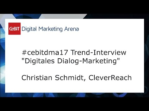 #cebitdmx17 Interview Christian Schmidt, CleverReach
