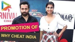 Emraan Hashmi to visit Carnival Cinemas , Deepak talkies to promote film Why Cheat India - HUNGAMA