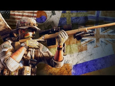 Linkin Park Medal of Honor Warfighter Trailer - E3 2012 Multiplayer Gameplay