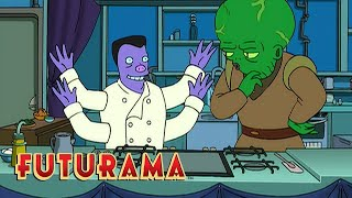FUTURAMA | Season 4, Episode 11: Chef Bender | SYFY - SYFY