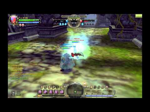 Dragon Nest: Gladiator vs Elestra (Sword Master 3rd Class and Elemental Lord 3rd Class)
