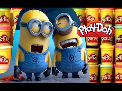 Play Doh Minions Summer Surprise Eggs Kinder Surprise Play Doh Disney Huevo Kinder sorpresa.