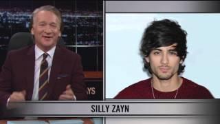 بالفيديو..  بيل ماهر يسخر من زين مالك