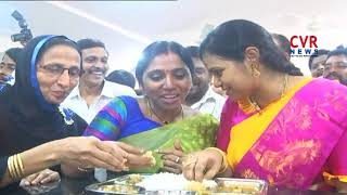 Anna Canteens Inaugurated in Kakinada | TDP Leaders | CVR NEWS - CVRNEWSOFFICIAL