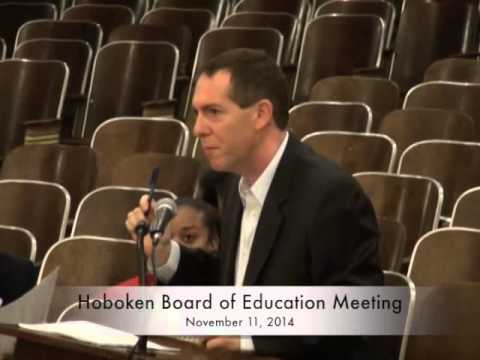 Hoboken Board of Education meetings