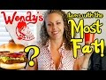 Shocking Amounts of Fat in Wendy's Hamburgers! Worst Foods on the Menu! Health & Weight Loss Tips