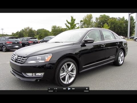 2012 Volkswagen Passat SEL TDI Start Up, Engine, and In Depth Tour