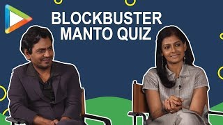 BLOCKBUSTER Manto quiz with Nawazuddin Siddiqui & Nandita Das - HUNGAMA