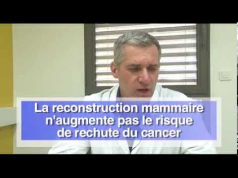 La reconstruction mammaire à l'ICM, Institut du Cancer de Montpellier