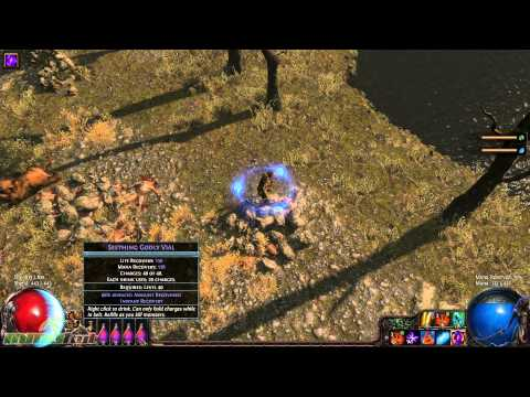Path of Exile Early Look at the Shadow Class (High Level) - Gameplay Commentary