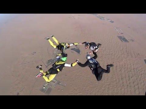 Jarrett Martin's 'Wheely' Cool Exit | #SkydiveDubai