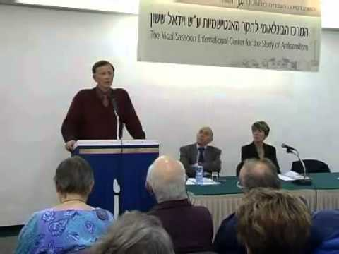Prof. Robert Wistrich: The New Antisemitism The Case of Great Britain