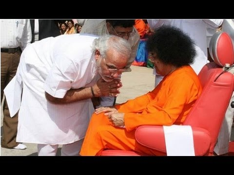 High-Ranking Politicians with Sri Sathya Sai Baba