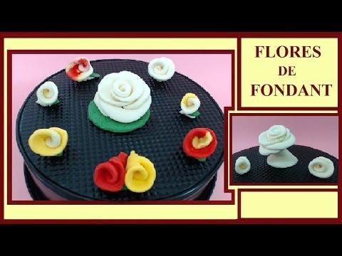 Flores de Fondant -