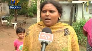 Political People Targeting NSP Camp Office In Khammam - ETV2INDIA