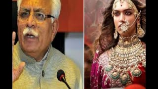 In Graphics: cm manohar lal khattar gave  safety assurance over padmaavat row - ABPNEWSTV