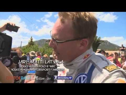 Highlights - 2013 WRC Acropolis Rally of Greece - Best-of-RallyLive.com