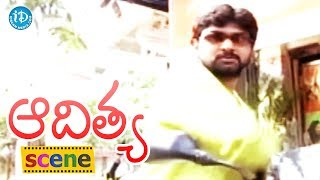 Aditya Movie Scenes - Police Chasing Jagadish || Shilpa || Swapna - IDREAMMOVIES