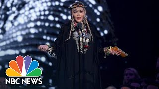 Madonna Criticized For Her Tribute To Aretha Franklin At MTV's VMA | NBC News - NBCNEWS