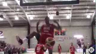 Jemell Anderson's Big Dunks Against USA Select Team