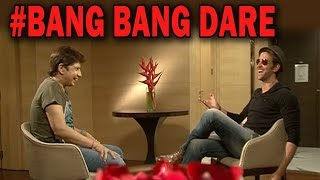 Hrithik Roshan gives Omar Qureshi a #BangBangDare - EXCLUSIVE!
