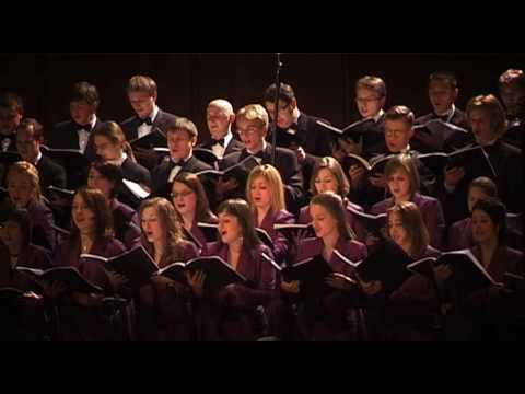J.S. Bach - Messe in h-moll BWV 232 - Gloria, Et in terra pax / Chór Akademicki UW