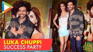 Team Lukka Chuppi Celebrates the success of the film | Rajkumar Rao, Sunny Leone - HUNGAMA
