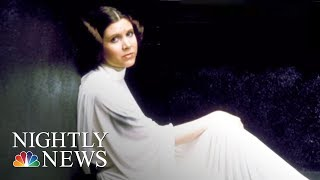Carrie Fisher's Final Performance Is Now On The Big Screen | NBC Nightly News - NBCNEWS