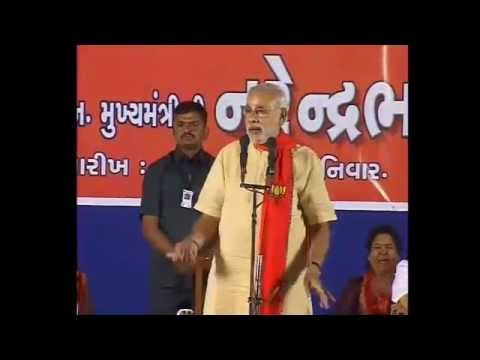 Shri Modi to campaign in Saurashtra and South Gujarat on 1sr December 2012 Pandisara Surat