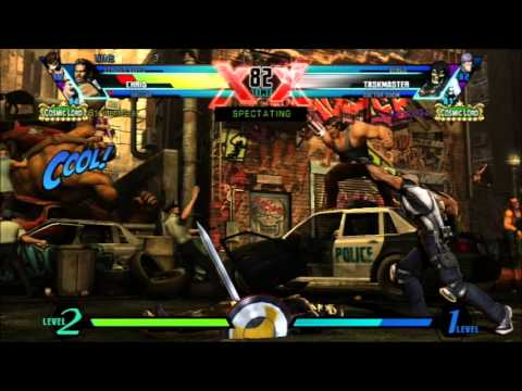 UMVC3 PSN TOURNEY SEMI-FINALS
