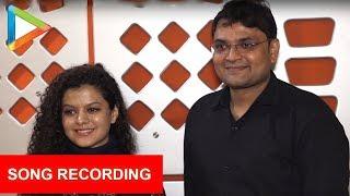 Singer Palak Muchhal At Song Recording For Movie Jaan Abhi Baaki Hai 2018 - HUNGAMA