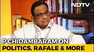CAG's Rafale Report Not Worth Paper It's Printed On: P Chidambaram To NDTV - NDTV