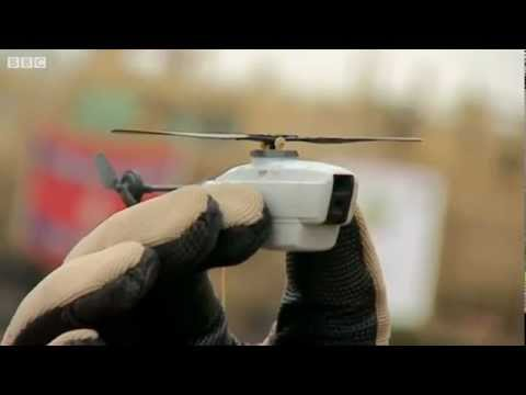Black Hornet Nano UAV - British Army