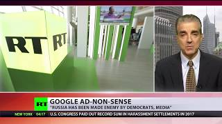 'Russia made enemy by US media & democrats' – analyst on Google 'de-ranking' of RT - RUSSIATODAY