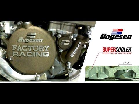 How to install a Boyesen SuperCooler